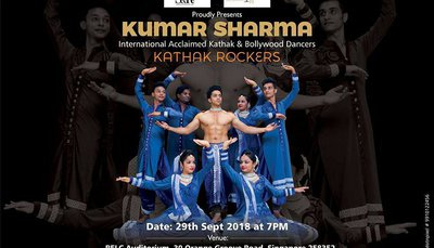The Kumar Sharma Show- Kathak Rockers