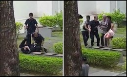 Are SG Police Officers Weak? Are they an embarrassment?
