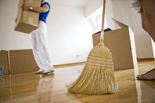 Moving out cleaning service