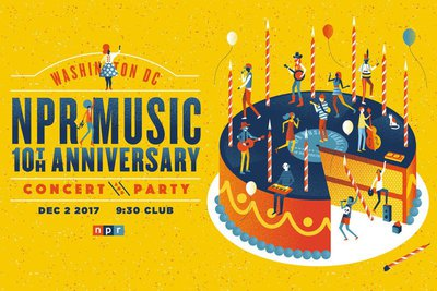 NPR Music's 10th Anniversary Concert and Party