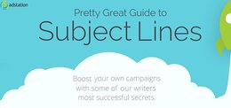 Pretty Great Guide to Subject Lines