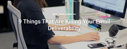 9 Things That Are Killing Your Email Deliverability