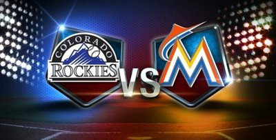 Colorado Rockies at Miami Marlins