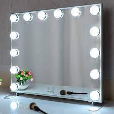 A Mirror Nightstand Is Your Ticket To Hollywood Glam And More