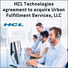 HCL TO ACQUIRE MORTGAGE BPO PROVIDER URBAN FULFILLMENT SERVICES, LLC