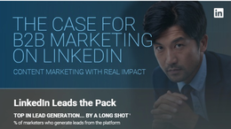 The Case for B2B Marketing on LinkedIn [Infographic]