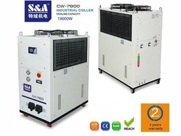 The cooling of 6KW fiber laser with S&A CW-7800EN water chiller in ten-in ten-out form