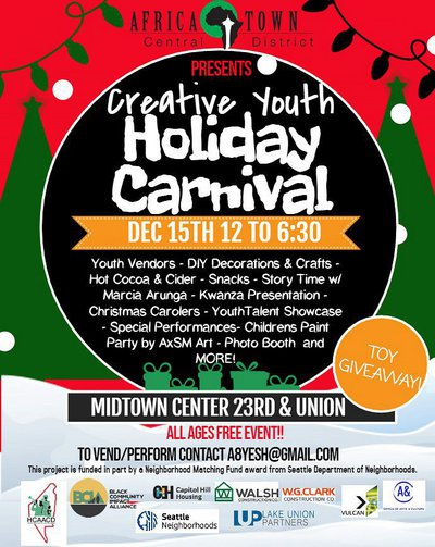 Creative Youth Holiday Carnival