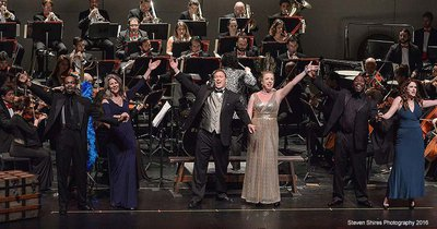 SOUTH FLORIDA SYMPHONY: AND THE TONY GOES TO
