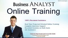 Business Analyst (BA) Online Live Training in USA