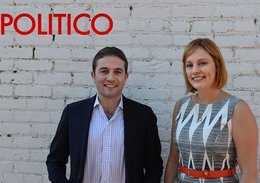 People in Power: Anna Palmer & Jake Sherman of Politico's Playbook