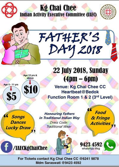 Father's Day Celebration 2018