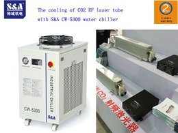 Repurchase of S&A CW-5300 water chiller by a British laser customer due to its good test effect