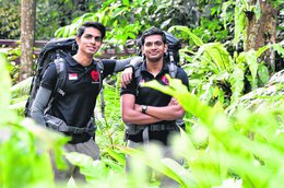 Singaporean Duo Set Out to Conquer The Highest Volcano in The World