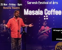 Masala Coffee To Perform Live in Singapore