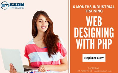 Web Designing with PHP 6 Months Industrial Training in Delhi