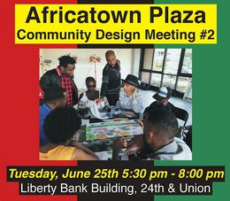 Africatown Plaza 2nd Design Meeting (The Reveal) Announced
