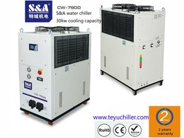 Purchase of S&A CW-7900 water chiller by a New Zealand university laboratory for cooling the charge-coupled device (CCD) camera