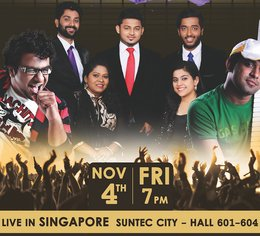 Super Singer World Tour - 4 November 2016
