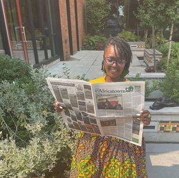 @AfricatownSea Newspaper Launches at UMOJA Day of Unity