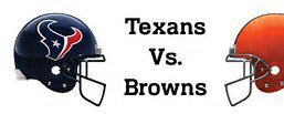 Browns vs Texans Live