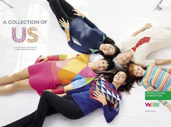 Benetton Becomes a Beacon in Female Empowerment