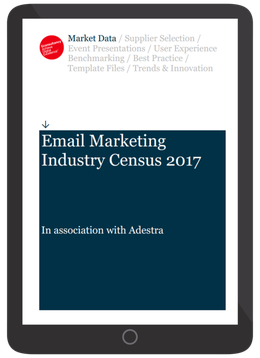 2017 Email Marketing Industry Census