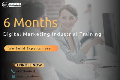 6 Months Digital Marketing Industrial Training in Delhi