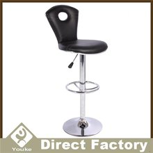 Multicolor High Metal Bar Stool Footrest Cover For Counter