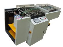 High Quality Full Automatic APM-420 Book Paper Hope Punching Machine For Bookbinding