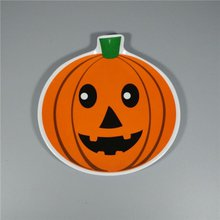 Holiday Use Pumpkin Shape Decorative Melamine Plate For Halloween