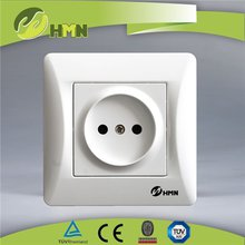 2 Pin Plug Sockets Handsome Plastic Russian Socket Child Protection TUV Electric Sockets Handsome