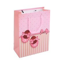 Nice Birthday Design Happy Birthday Colored Large Paper Bags With PP Rope Paper Handle Bags