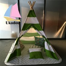 Super Luxury Tipi Camping Waterpoof Canvas Teepee Tent