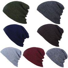 Fashion Warm Knitting Hat Women/Men Winter Hat Beanies Balaclava Warm Winter Cap Brand Beanie Hat