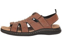 Mens Dress Slippers With Open Toe And Dress Cow Leather Straps And Dress Buckles