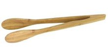 Table Use Kitchenware Bamboo Serving Tongs