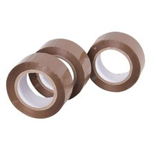 Self Adhesive Tape With Strong Adhesive Of Clear Yellowish Brown For Carton Sealing