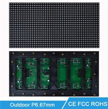 P6.67mm Outdoor Full Color LED Video Display Module, SMD P6.67 LED Screen Panel