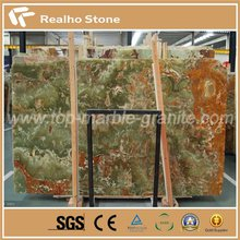 Nature Dark And Light Green Onyx Stone Marble for Project Decoration