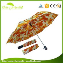Accept Small Quantity Order For City Photo And Sunflower Dital Print Umbrella