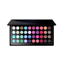 Eyeshadow Palette Glitter Morphe Red Professional 35 Color Cream Private Label