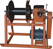 Hydraulic Wireline Winches For Core Drilling Rig Winch Standard Foot Clamp