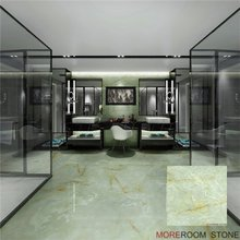 High Quality 8x8 Green Onyx Look Polished Porcelain Floor And Wall Tiles