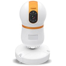 Bulb Type Lightning Protection HD PLC IP Camera For Indoor Security Monitoring Use