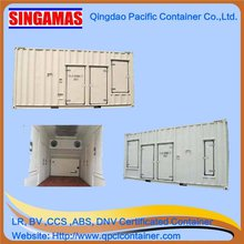 Singamas Qingdao Factory Directly Produce and Sell 20ft High Cube Insulated Generator Container