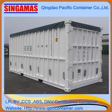 Singamas Qingdao Factory Directly Produce and Sell 20ft High Cube Waste Open Top Container