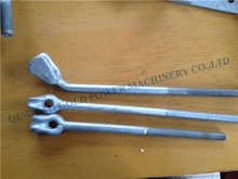 Thimble Straight Forged Galvanized Eye Bolt