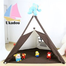 Waterproof 100% Cotton Canvas Teepee For Kids Room
