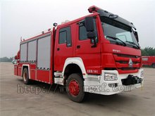 Middle Size Rescue Emergency Fire Truck